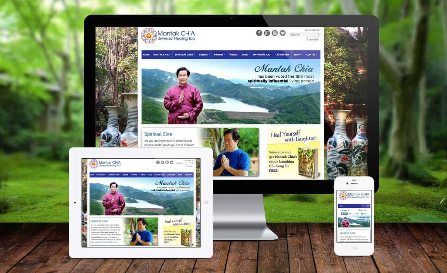 Mantak Chia Responsive Design