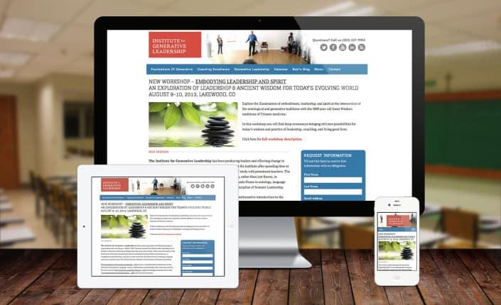 IGL Responisive website