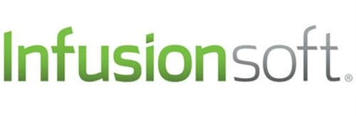 Infusionsoft logo Teamwork PM logo