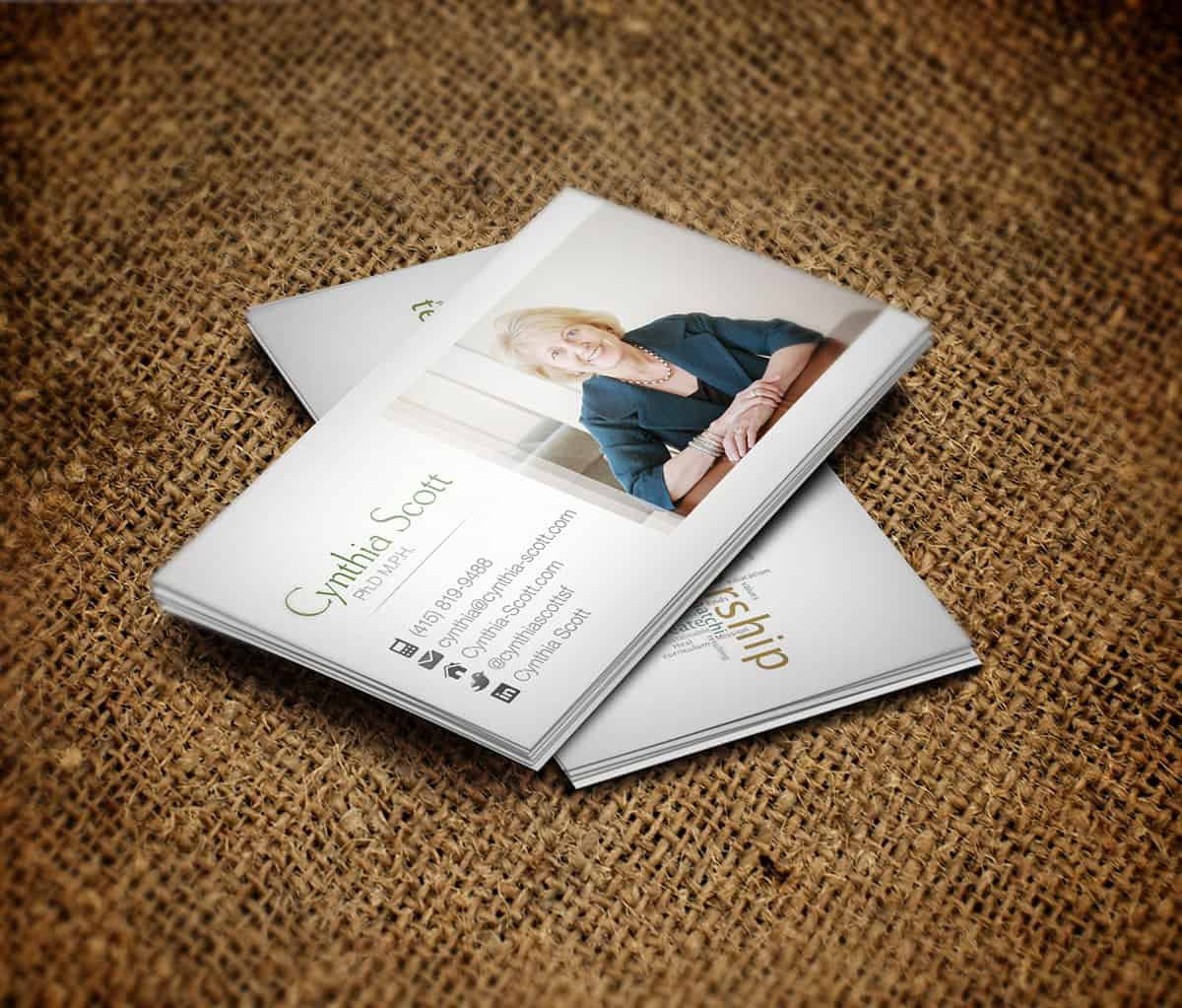 CS Business Card Design
